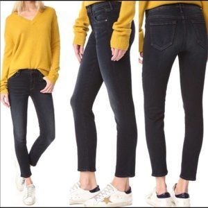 NWT MOTHER Denim The Looker Crop Lies & Shadows Skinny Jeans